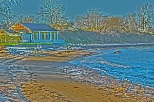 Balle færgekro strand